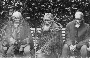 Ernest Warde photo of Maori chiefs, 1998:P:0383, QVMAG